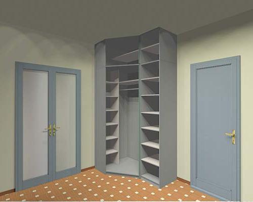 шкаф угловой маленький в прихожую фото
